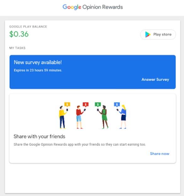 google opinion rewards zarabianie na ankietach